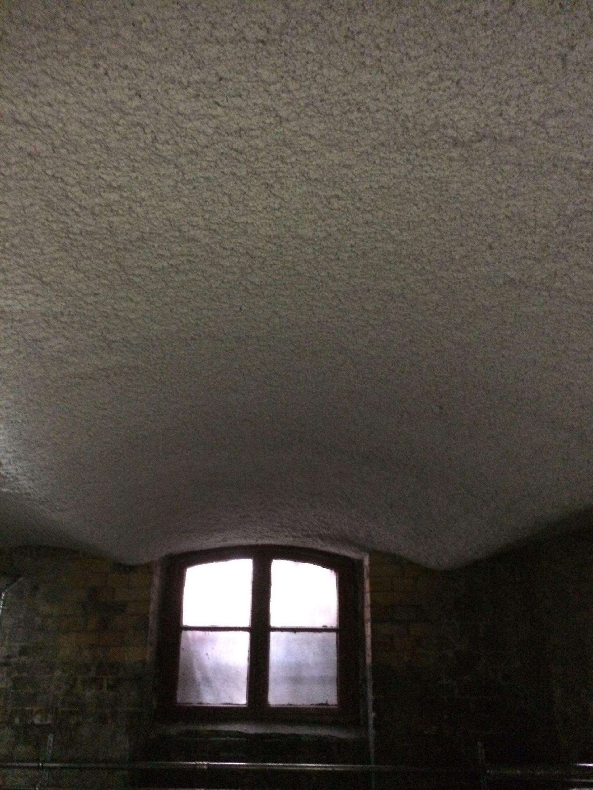 Kellerdeckendämmung - Gewölbedecke
