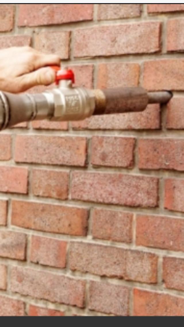 Einblasöffnung für zweischaliges Mauerwerk